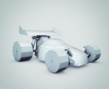 Low Poly Vehicles