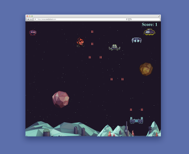 Alien Invaders Web Game